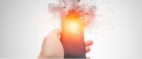 Gel Feuerlöscher für Lithium-Ionen Akkus