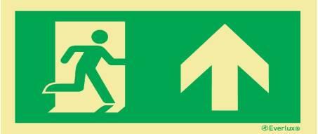 Flucht -und Rettungszeichen SN EN ISO 7010 215mcd