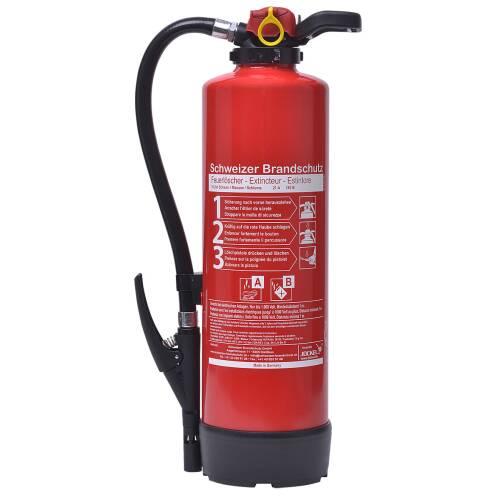 Büro-Feuerlöscher 6 Liter Schaum