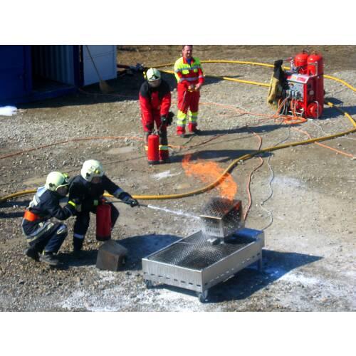 Feuerlöschtraining Modul 3