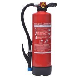 Büro-Feuerlöscher Wassernebel 6 Liter