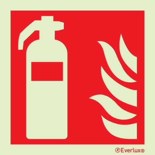 Brandschutzzeichen Feuerlöscher