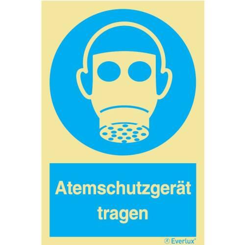 Gebotszeichen Atemschutzgerät tragen SN EN ISO 7010