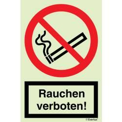 Verbotszeichen Rauchen verboten SN EN ISO 7010
