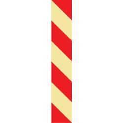 Langnachleuchtende Treppenmarkierung