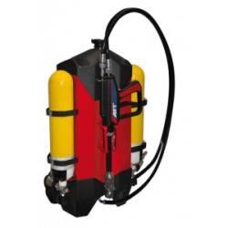 Rückentragegerät 10 Liter 1.4m Schlauch AFT