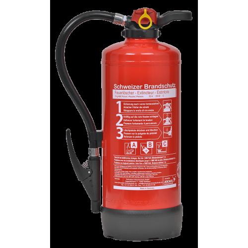 Übungs-Feuerlöscher Pulver 9kg Inhalt