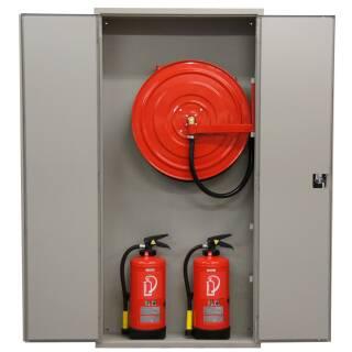 Standard Schrank mit Platz für 2 Feuerlöscher