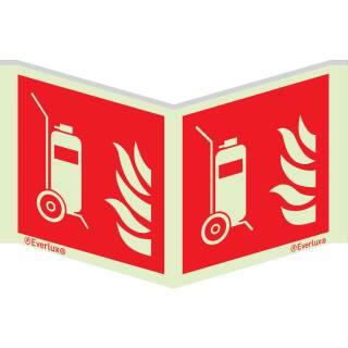 Fahrbare Feuerlöscher